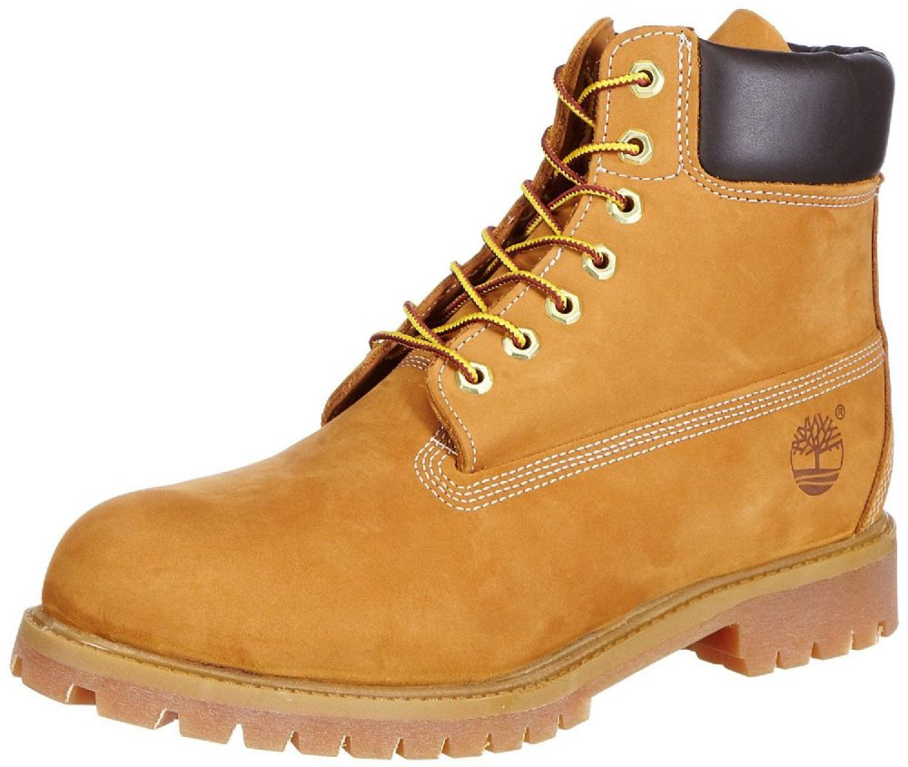 "Timberland 6"" Waterproof Men's Boots,Wheat,UK Size 9"